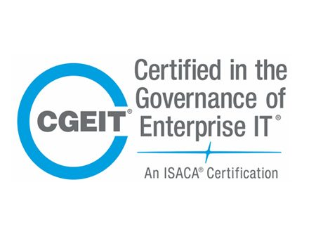 Certified in the Governance of Enterprise IT – CGEIT