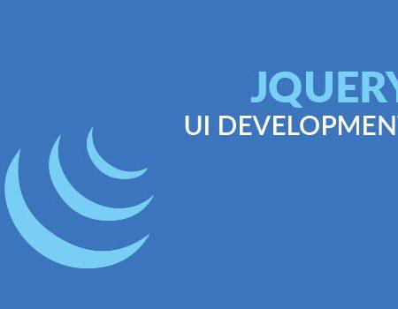 jQuery UI Development